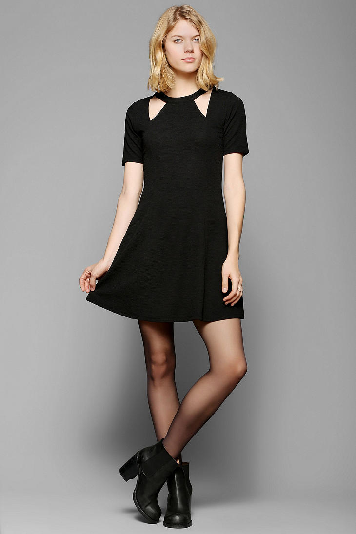 Urban Outfitters Silence Noise Hart Shoulder Cutout Skater