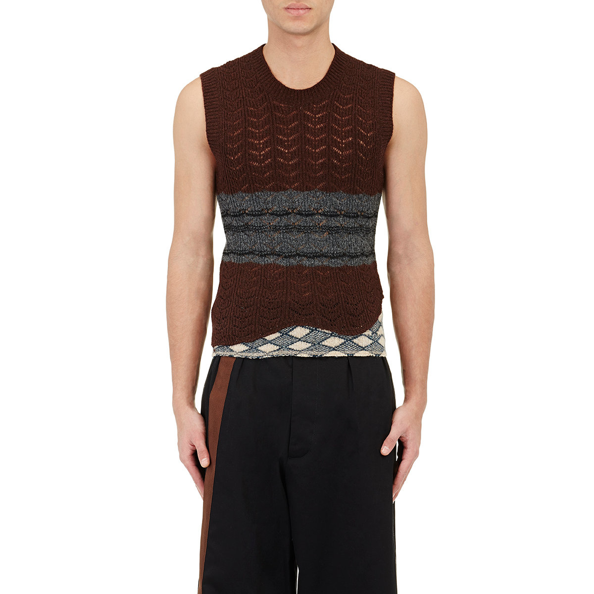 Lacoste Sleeveless Sweater