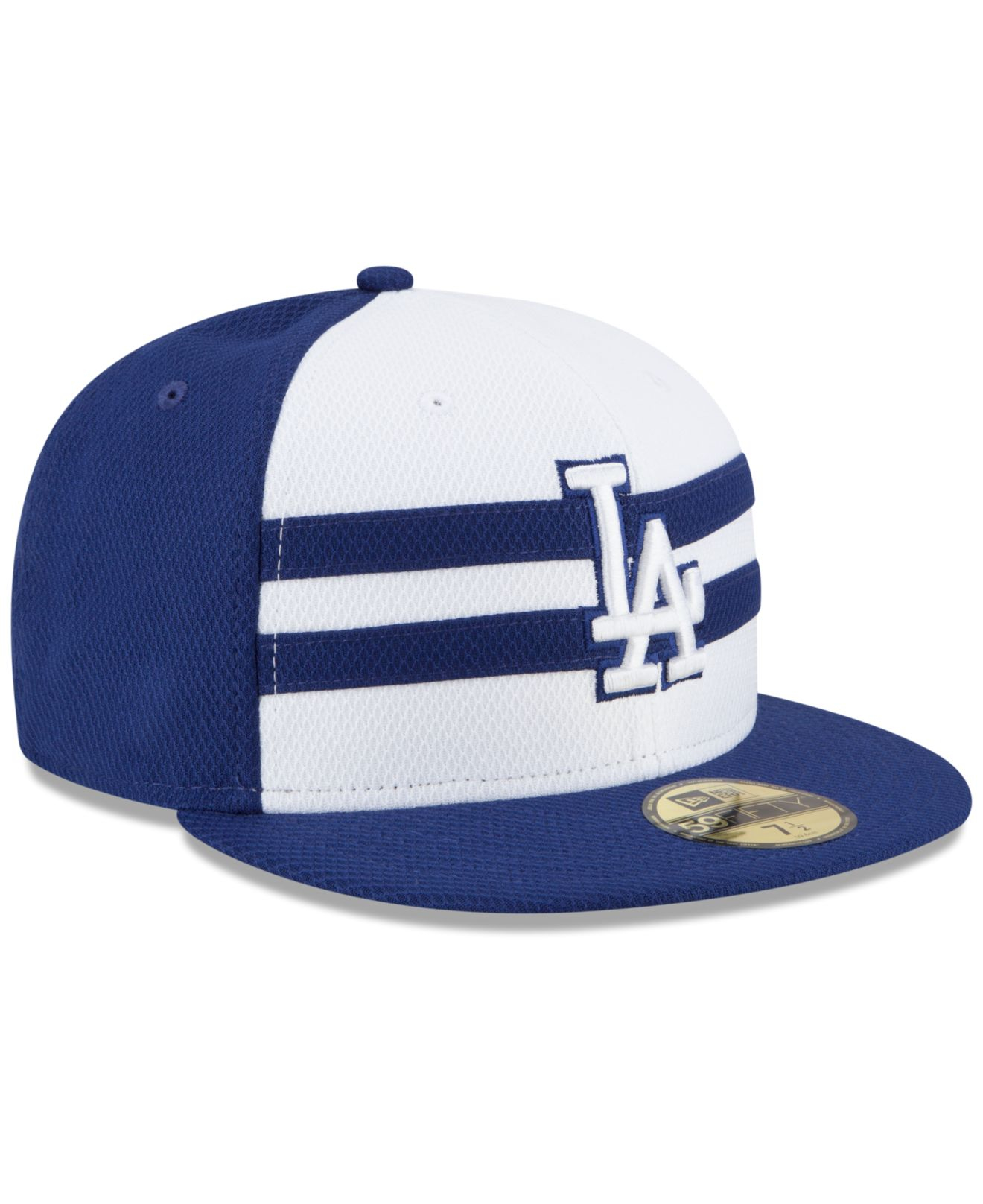 816a4f25 KTZ Blue Los Angeles Dodgers 2015 All Star Game 59fifty Cap for men