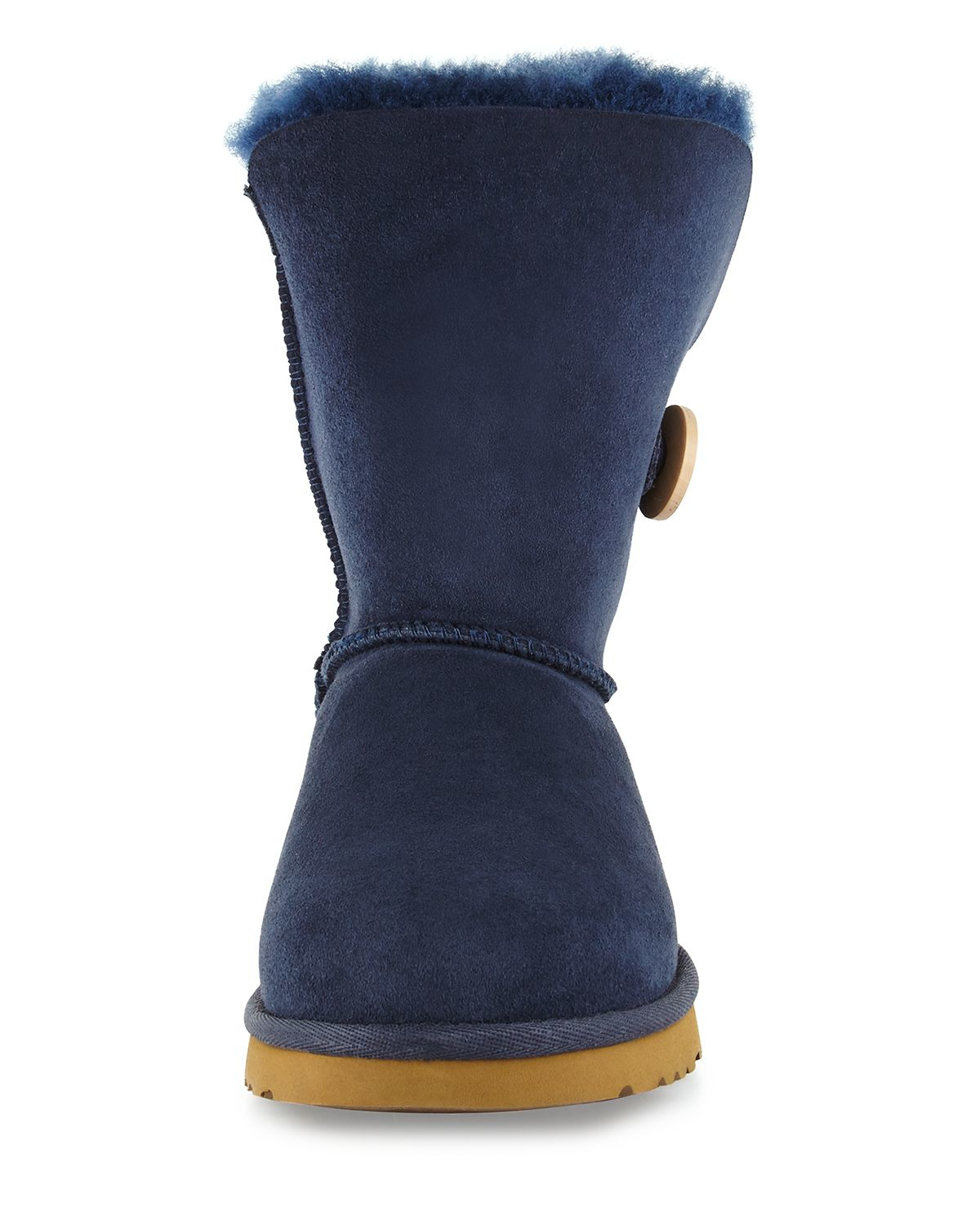 ugg bailey button navy blue