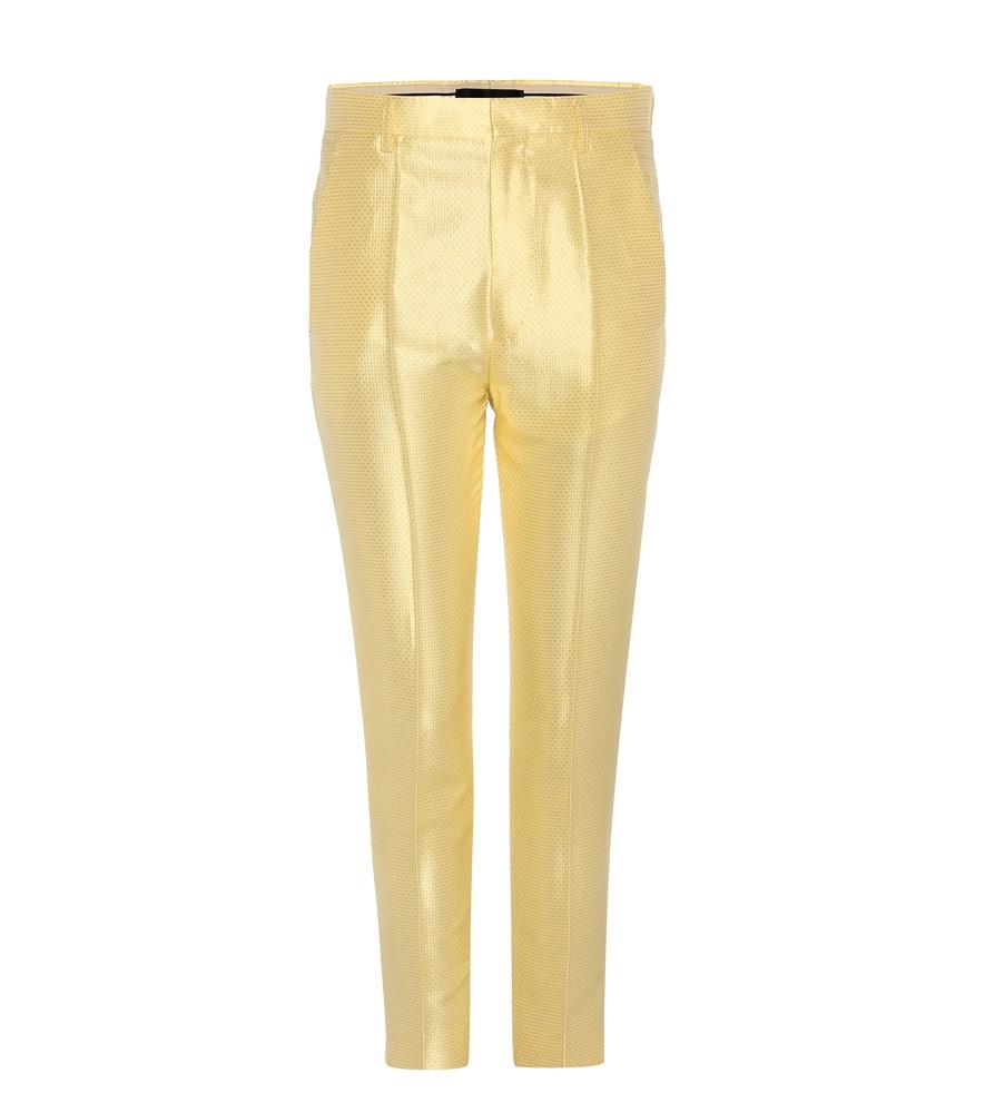haider-ackermann-yellow-jacquard-silk-tr