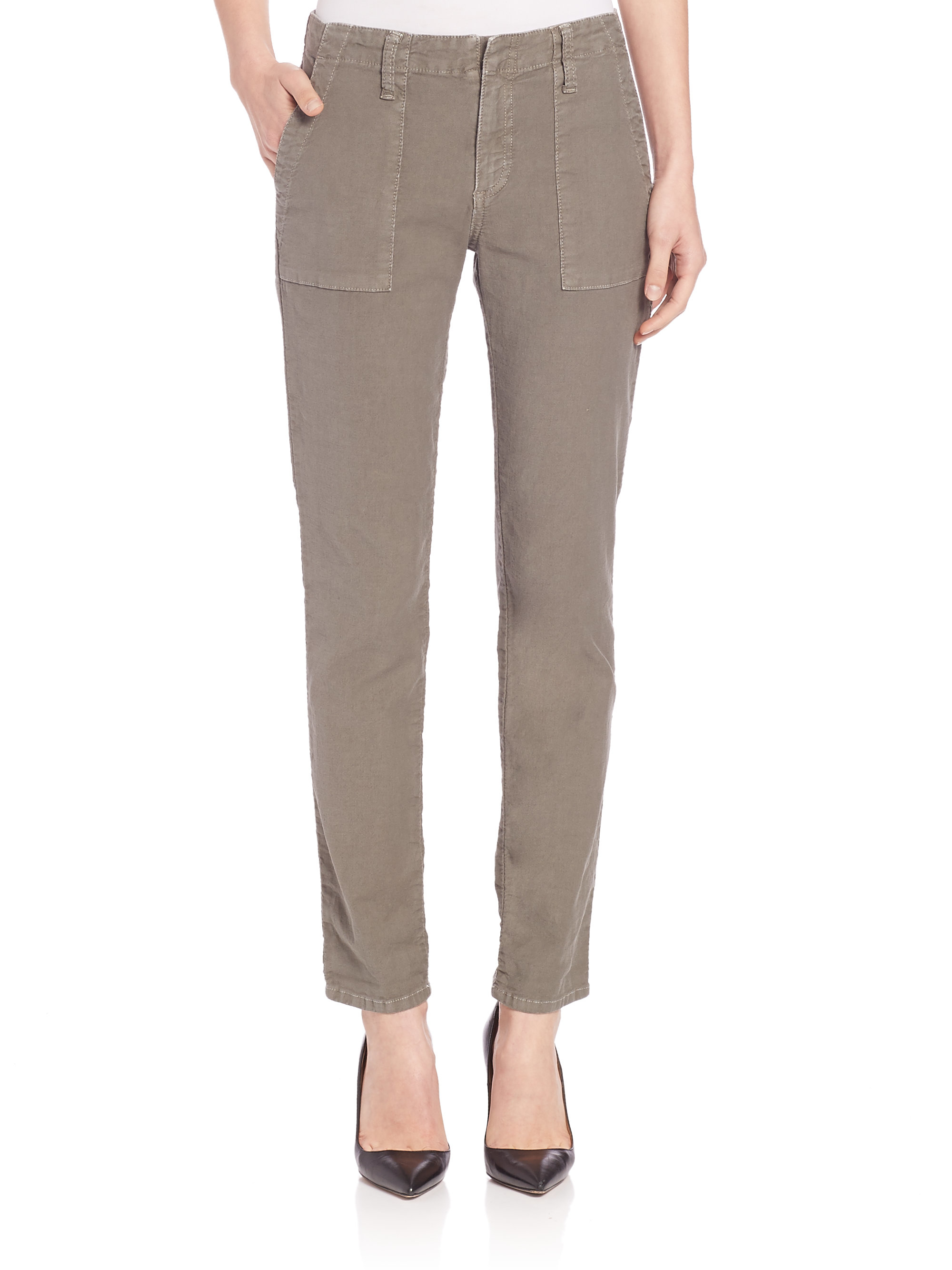 A - Hot Cotton Linen/Cotton Drawstring Crop Pants 5 8 8 love these! Runs true to size, ordered a medium and they fit great! Have them in green, and will buy in the other solid colors. I live in the desert, and these are going to get me through a lot of + days/5(8).