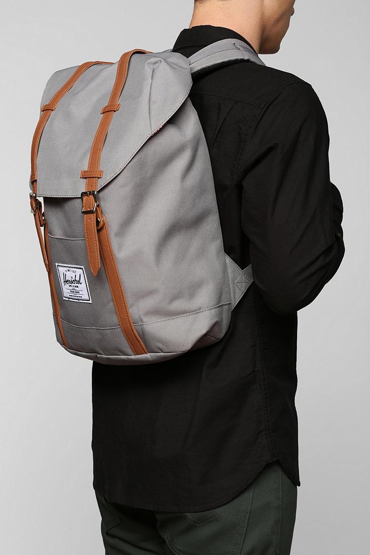96b2fe64657 Lyst - Herschel Supply Co. Retreat Backpack in Gray