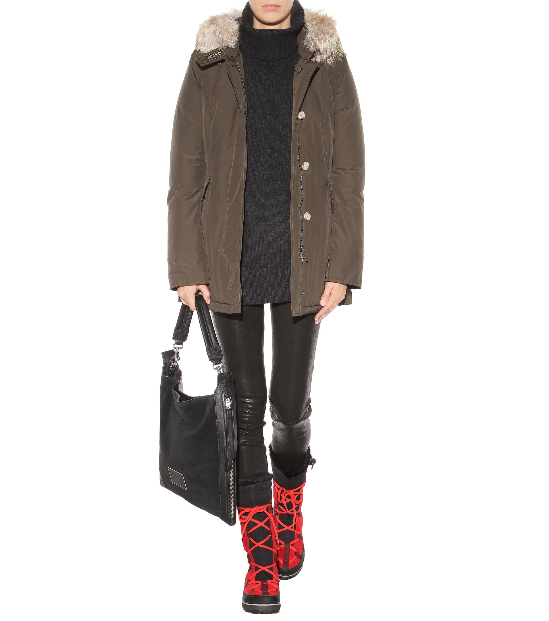 Sorel Glacy Explorer Suede Boots In Red Lyst