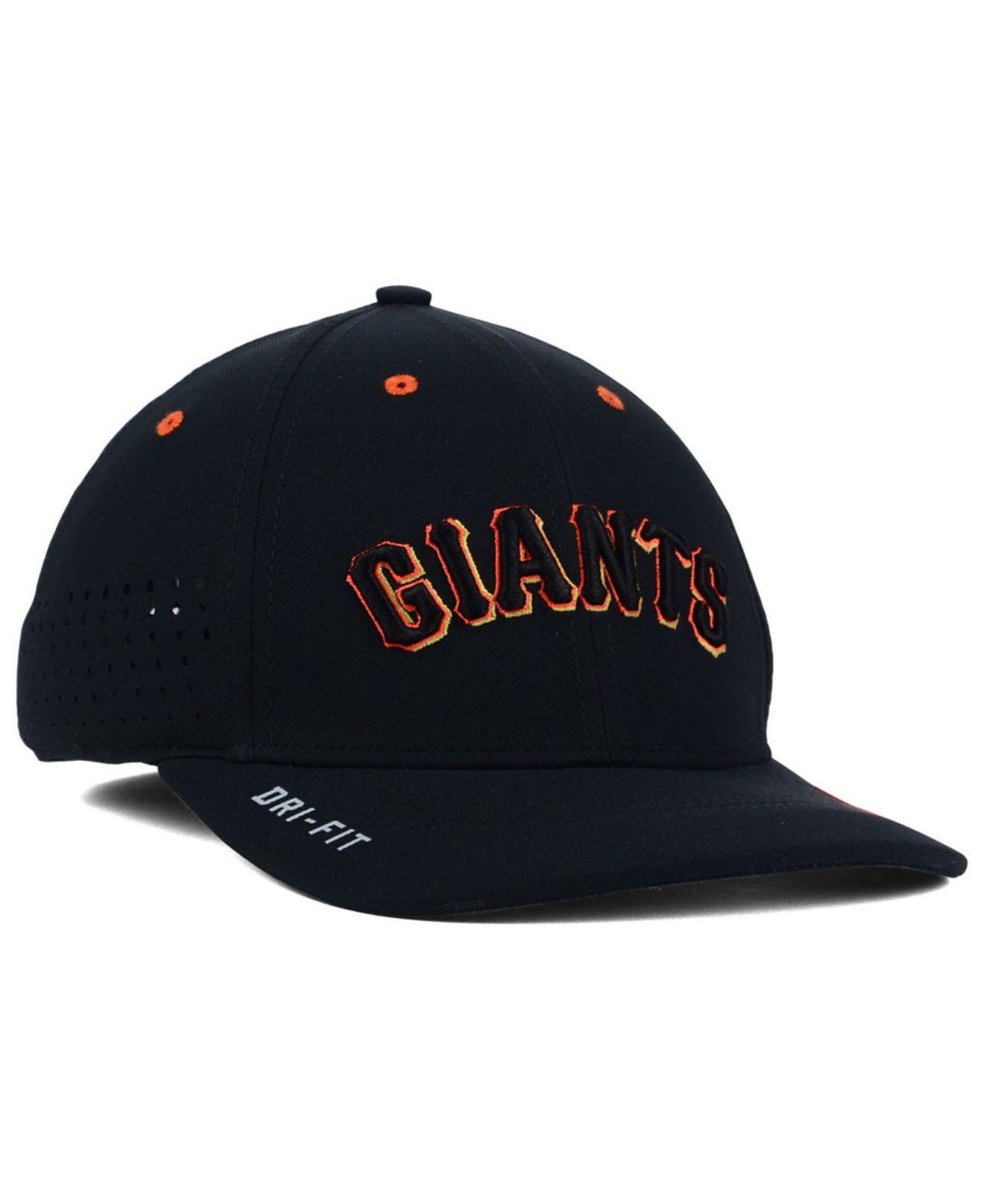 quality design 61c58 170a3 Nike Black San Francisco Giants Vapor Swoosh Flex Cap for men