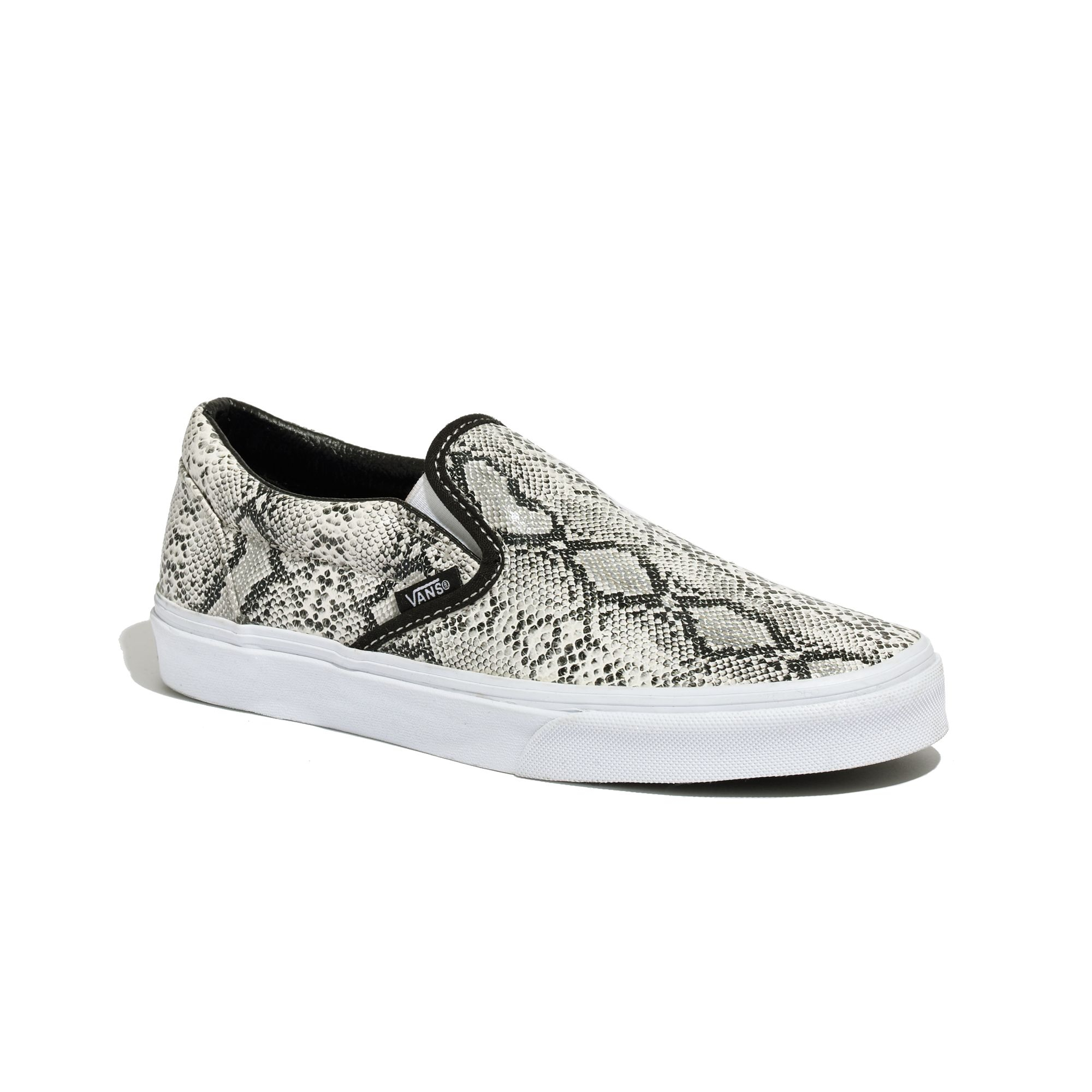 8745e94a55 Madewell Vans® Classic Slip-ons In Snake Print - Lyst