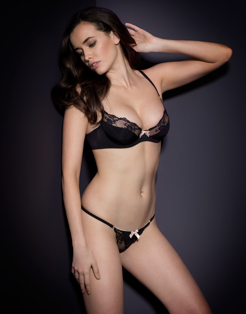 Lyst Agent Provocateur Joseline Thong In Black