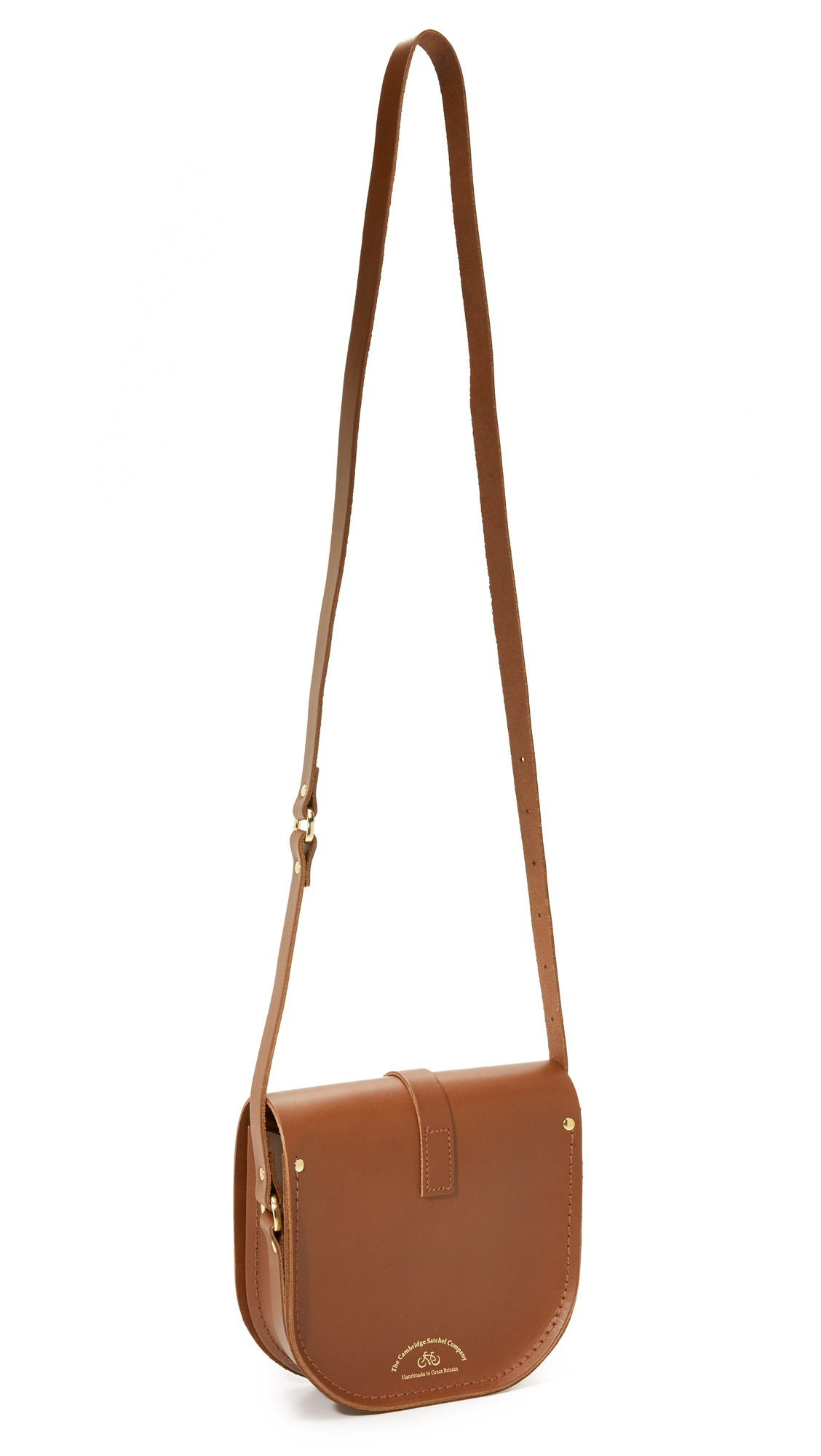Cambridge satchel company Saddle Bag in Brown | Lyst