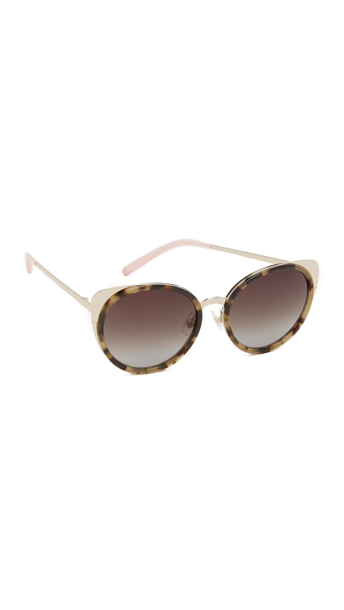 Matthew Williamson glitter cat eye sunglasses Shop For Online Free Shipping 100% Authentic Discounts Cheap Online Outlet Big Sale zneagF