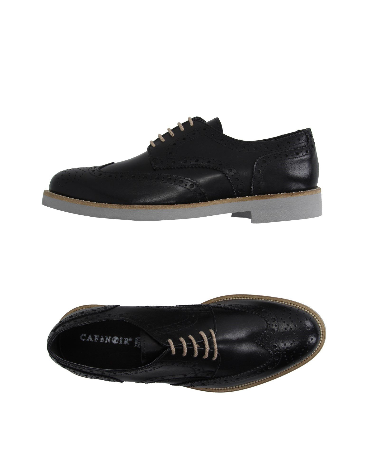 cafenoir lace up shoes in black for lyst