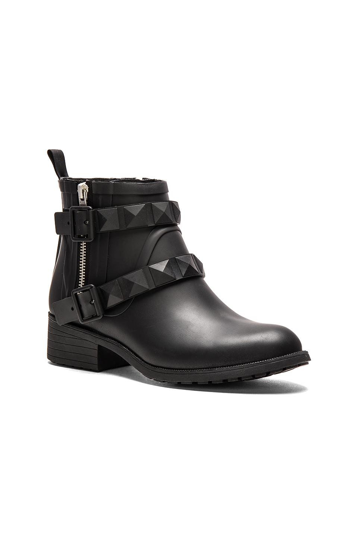 Lyst Rebecca Minkoff Quincy Rain Boot In Black