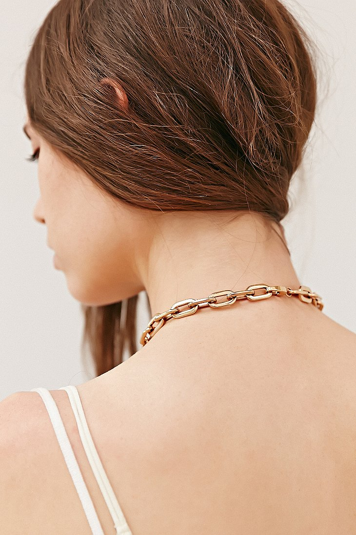 Lyst Urban Outfitters Amber Sceats Drop Crystal Necklace