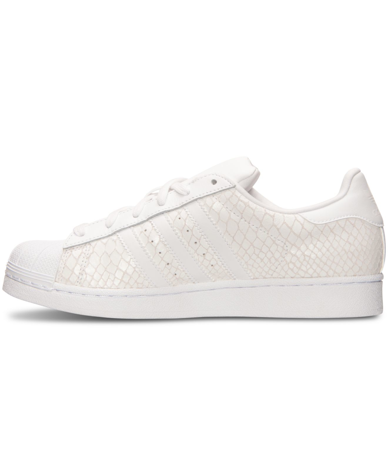78ad000d5 Lyst - adidas Originals Women s Superstar Casual Sneakers From ...