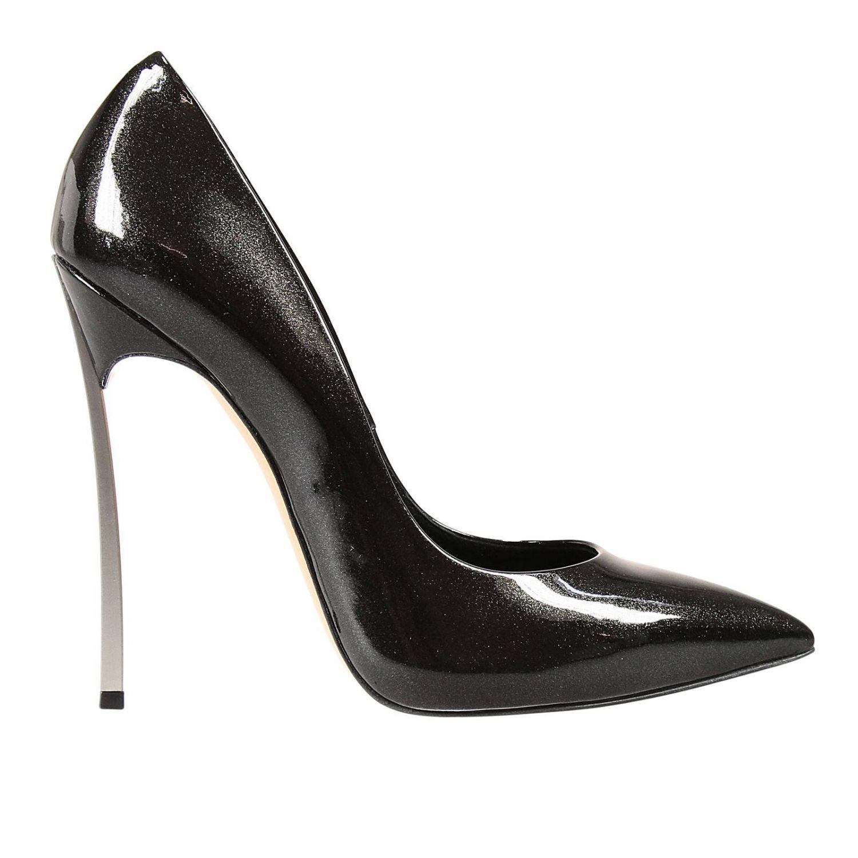 Lyst Casadei Heels In Black
