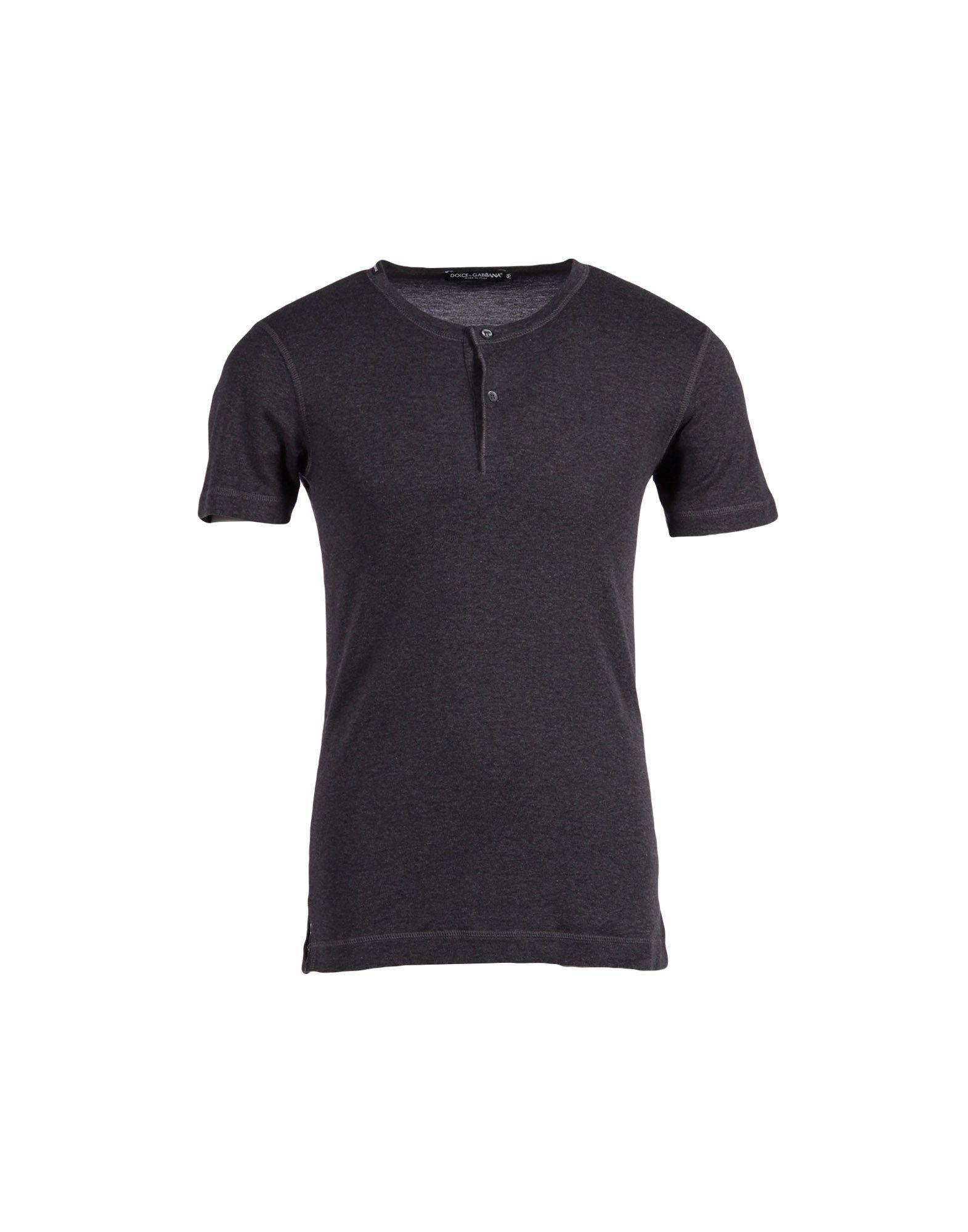 dolce gabbana t shirt in gray for men lead lyst. Black Bedroom Furniture Sets. Home Design Ideas