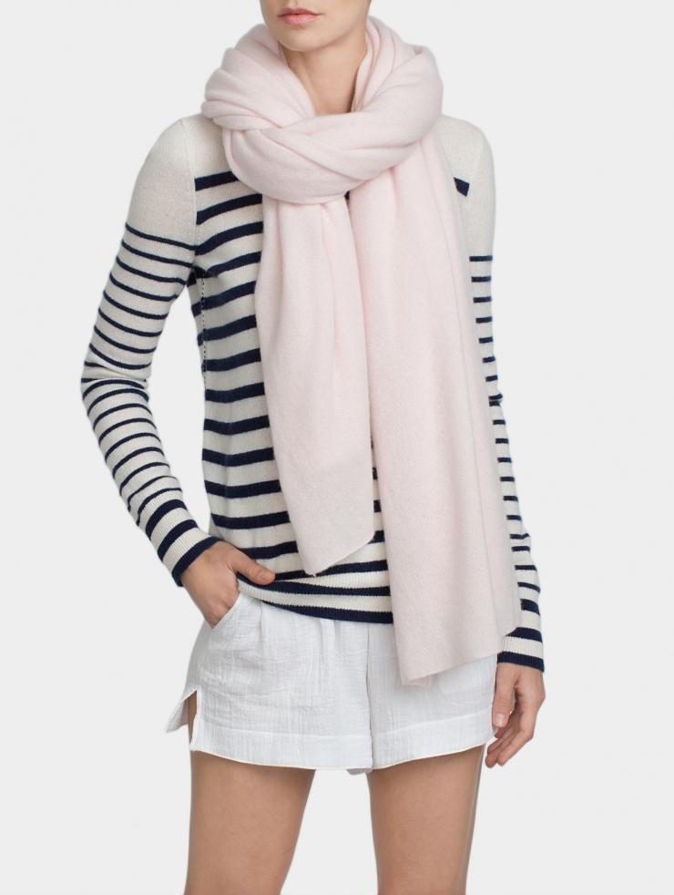 White + warren Cashmere Travel Wrap in Pink | Lyst
