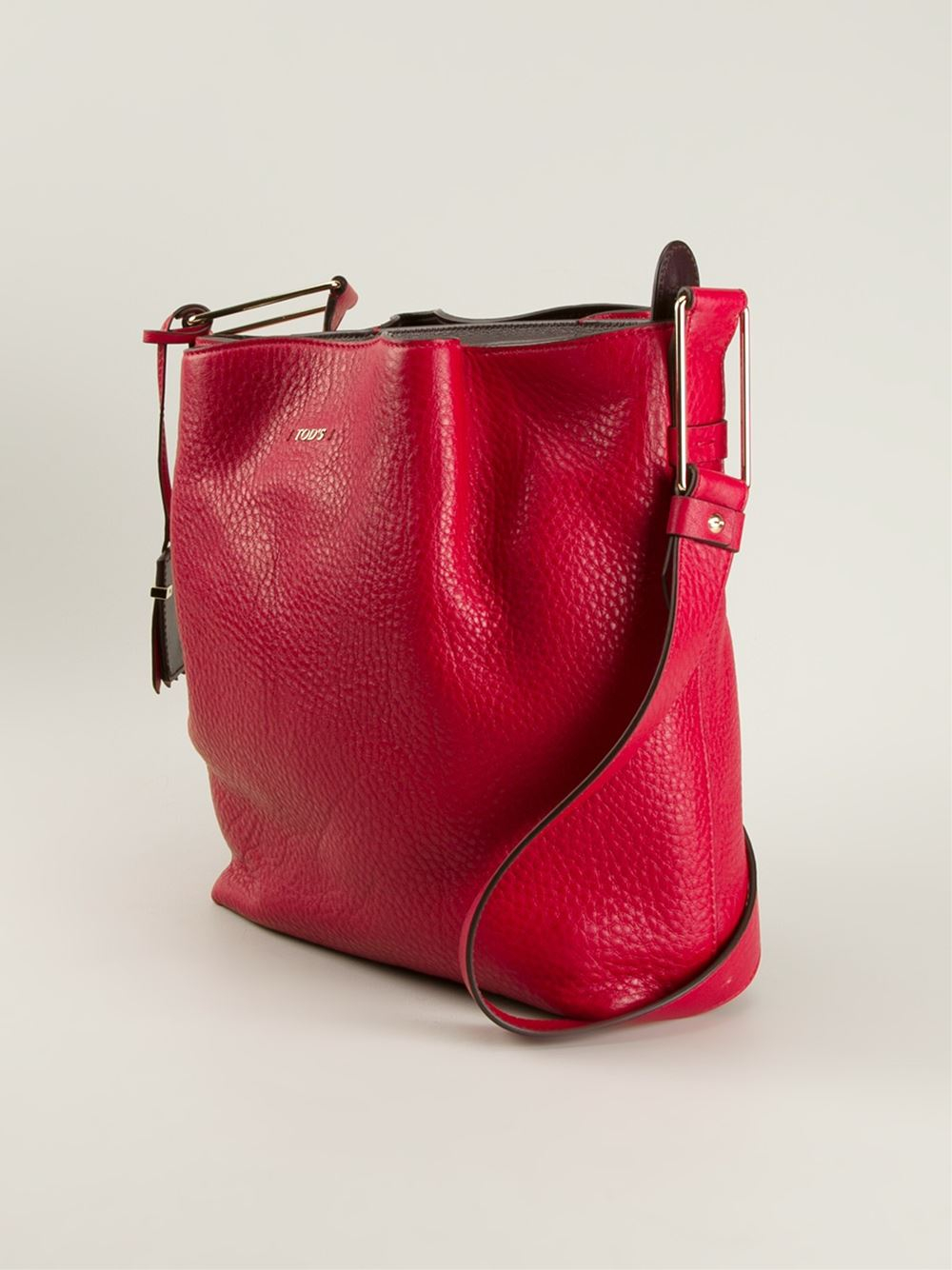 Tod S Medium Flower Bag In Red Lyst