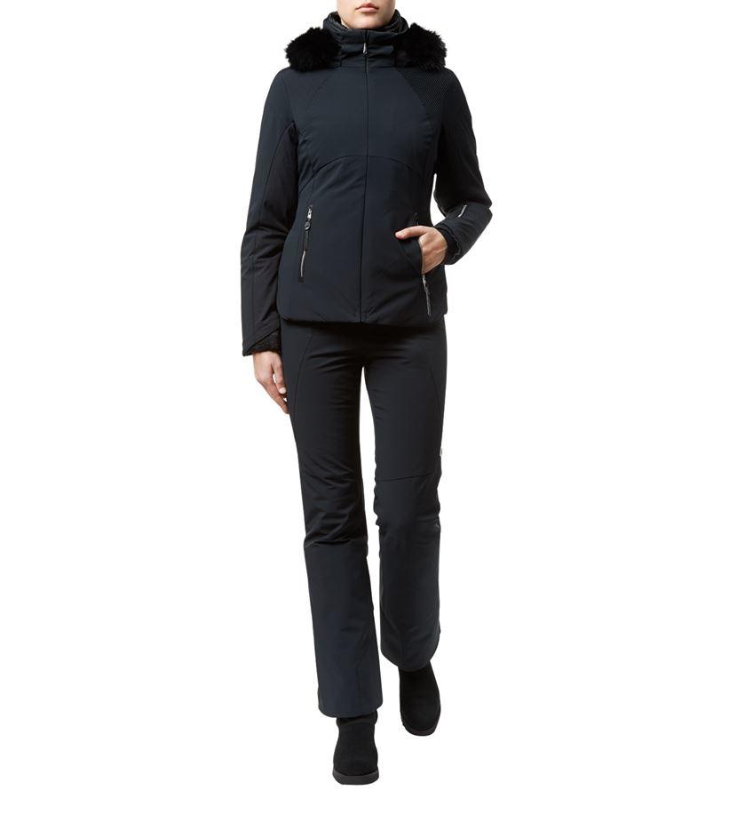 3057532727 Spyder Posh Ski Jacket in Black - Lyst
