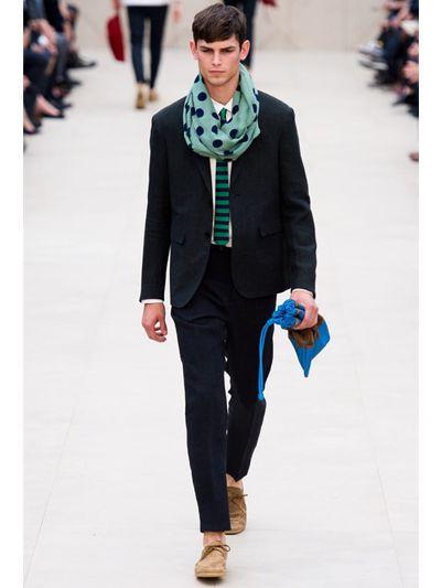 Burberry Prorsum Soft Linen Canvas Jacket in Dark Green (Black) for Men