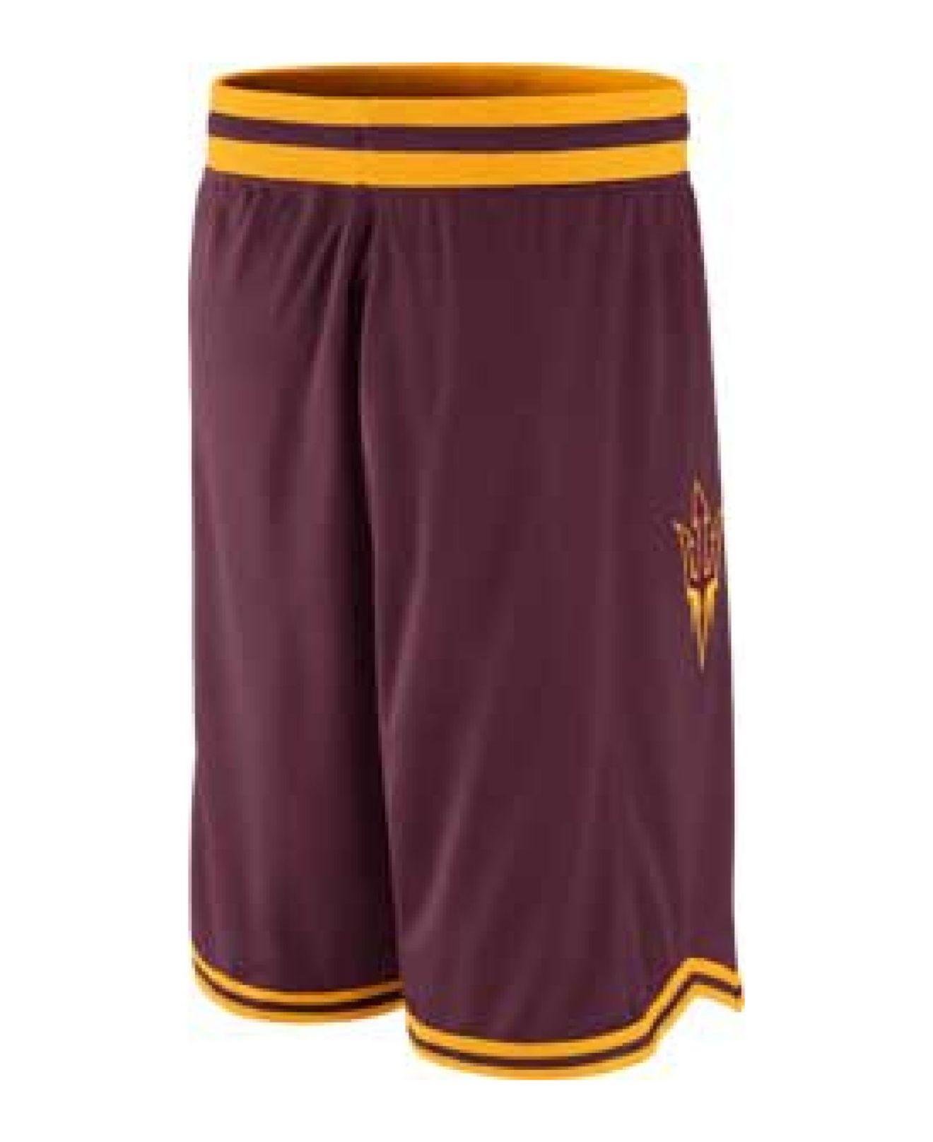 bf22d581ee2 Nike Red Men'S Arizona State Sun Devils Replica Basketball Shorts for men