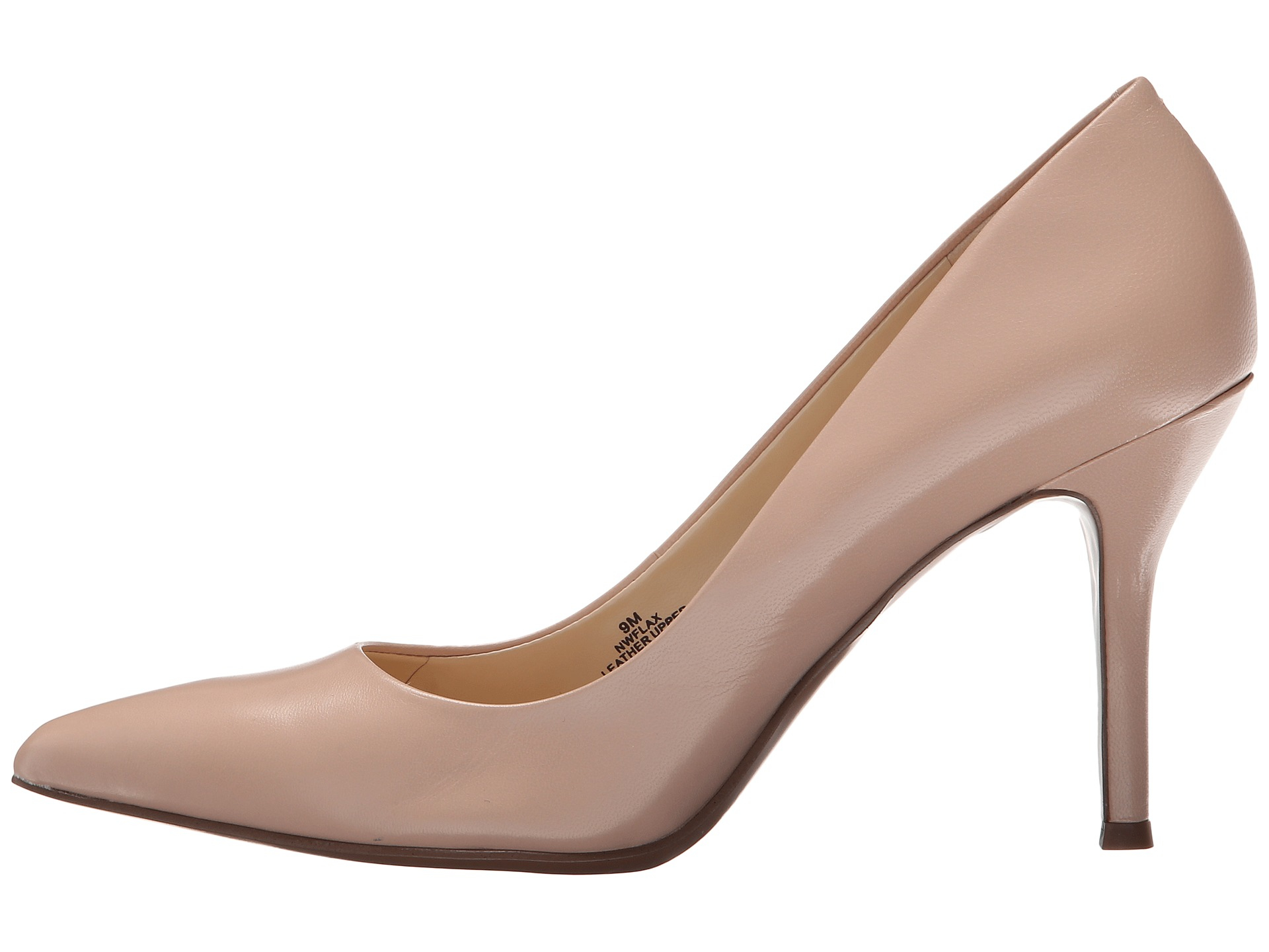 nine west flax in pink lyst