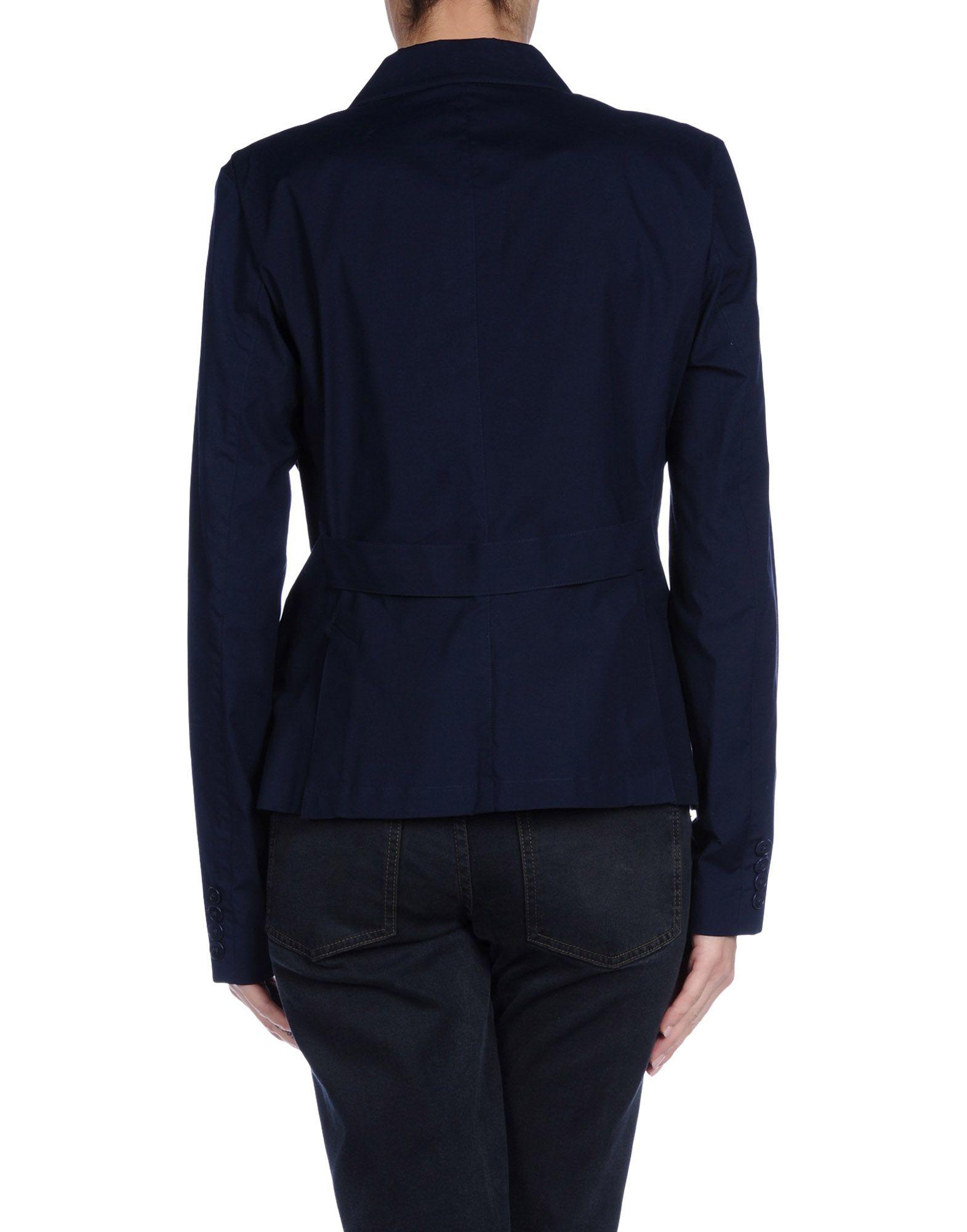 ralph lauren blazer in blue dark blue lyst. Black Bedroom Furniture Sets. Home Design Ideas