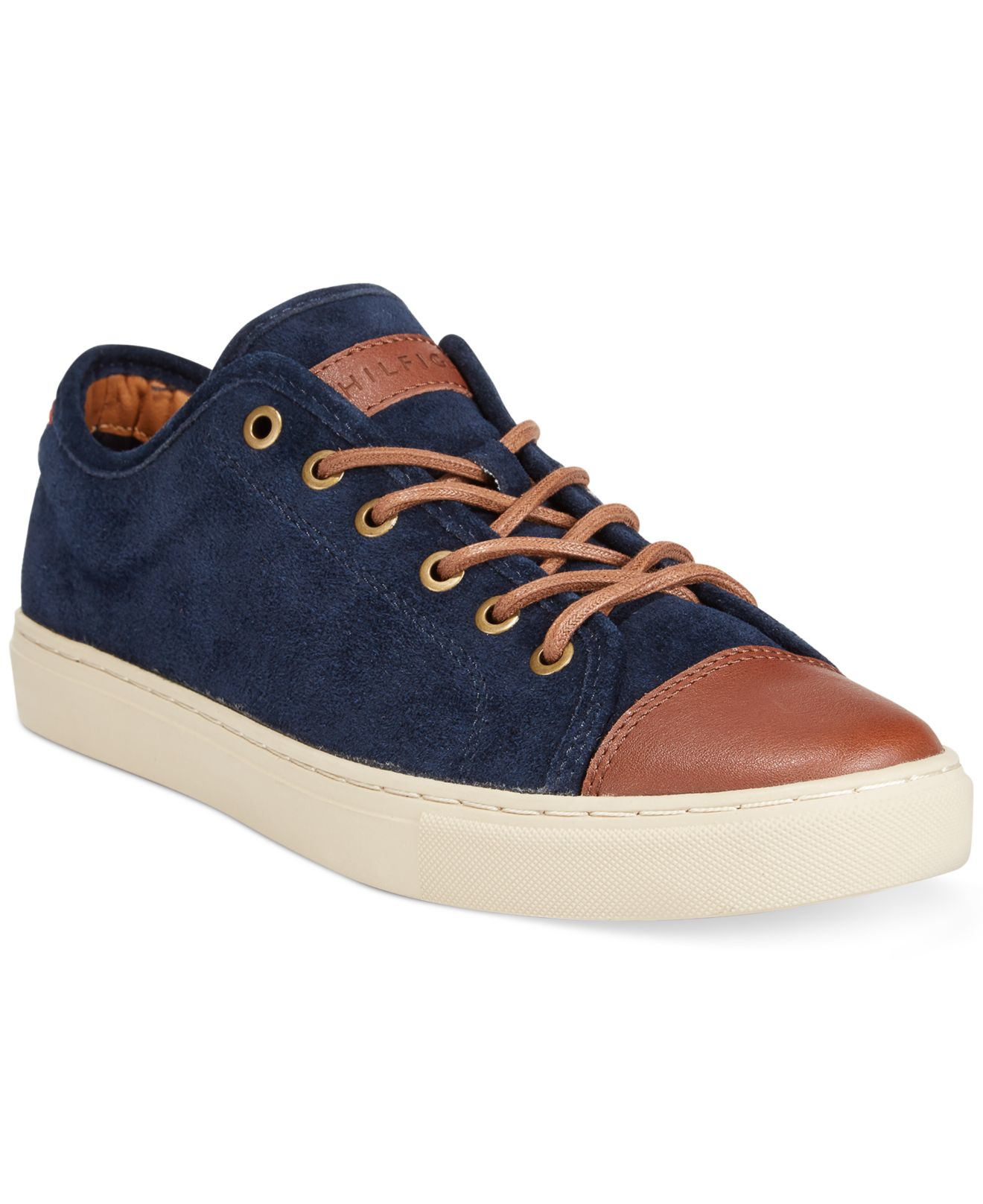 lyst tommy hilfiger mason sneakers in blue for men. Black Bedroom Furniture Sets. Home Design Ideas