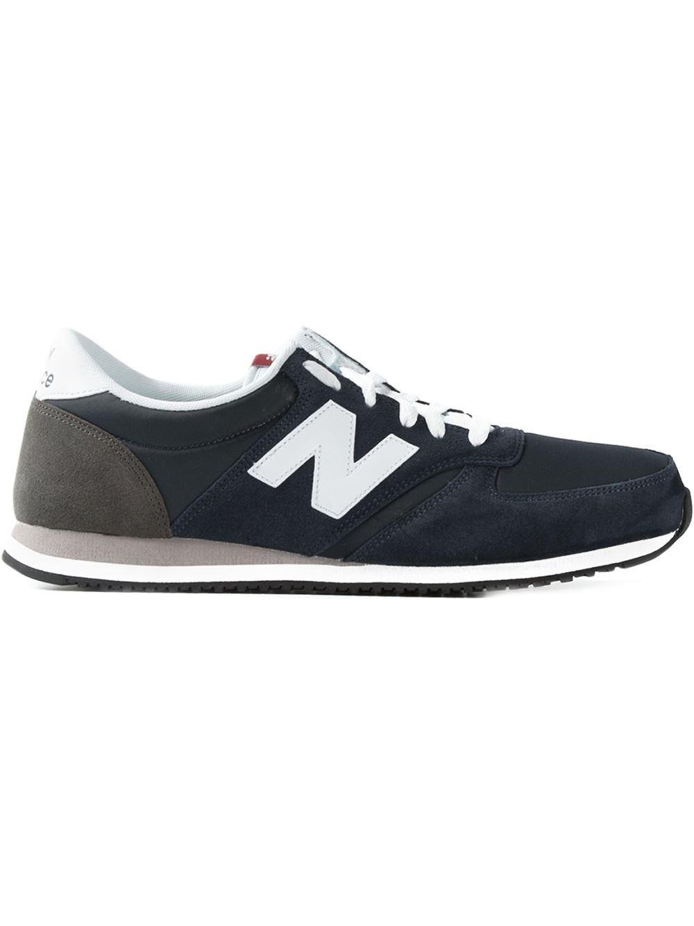 lyst new balance 70s running 420 sneakers in blue for men. Black Bedroom Furniture Sets. Home Design Ideas