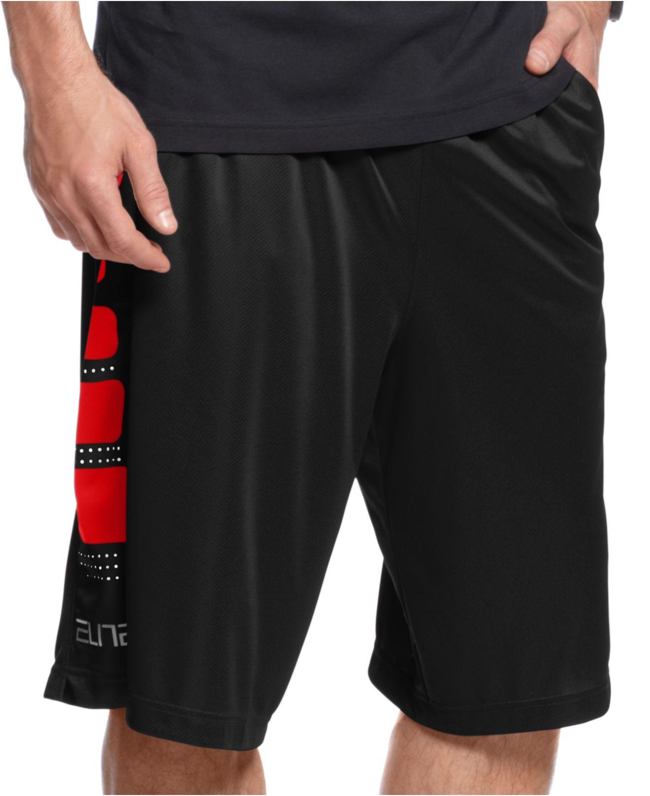 Fashion week Basketball red Black shorts for girls