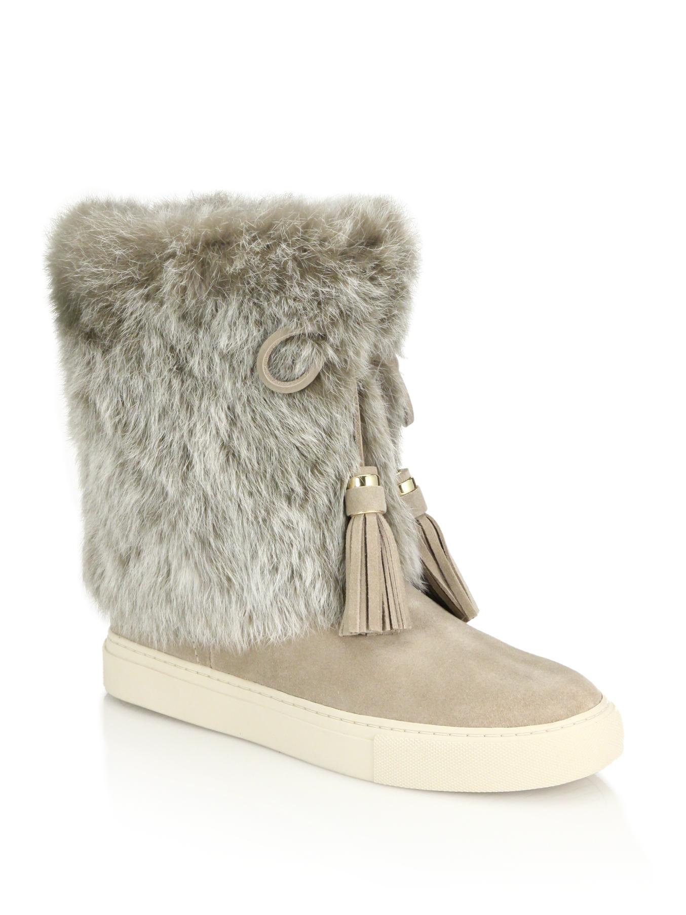 Manchester sale online Tory Burch Anjelica Rabbit Fur Boots clearance explore cheap authentic outlet 2014 cheap sale clearance deals KKafDqF
