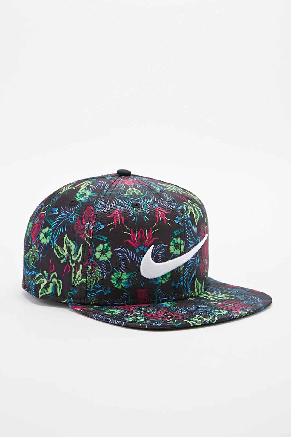 Nike Pro Floral Snapback Cap In Green And Pink for Men - Lyst 2cf88bda32e