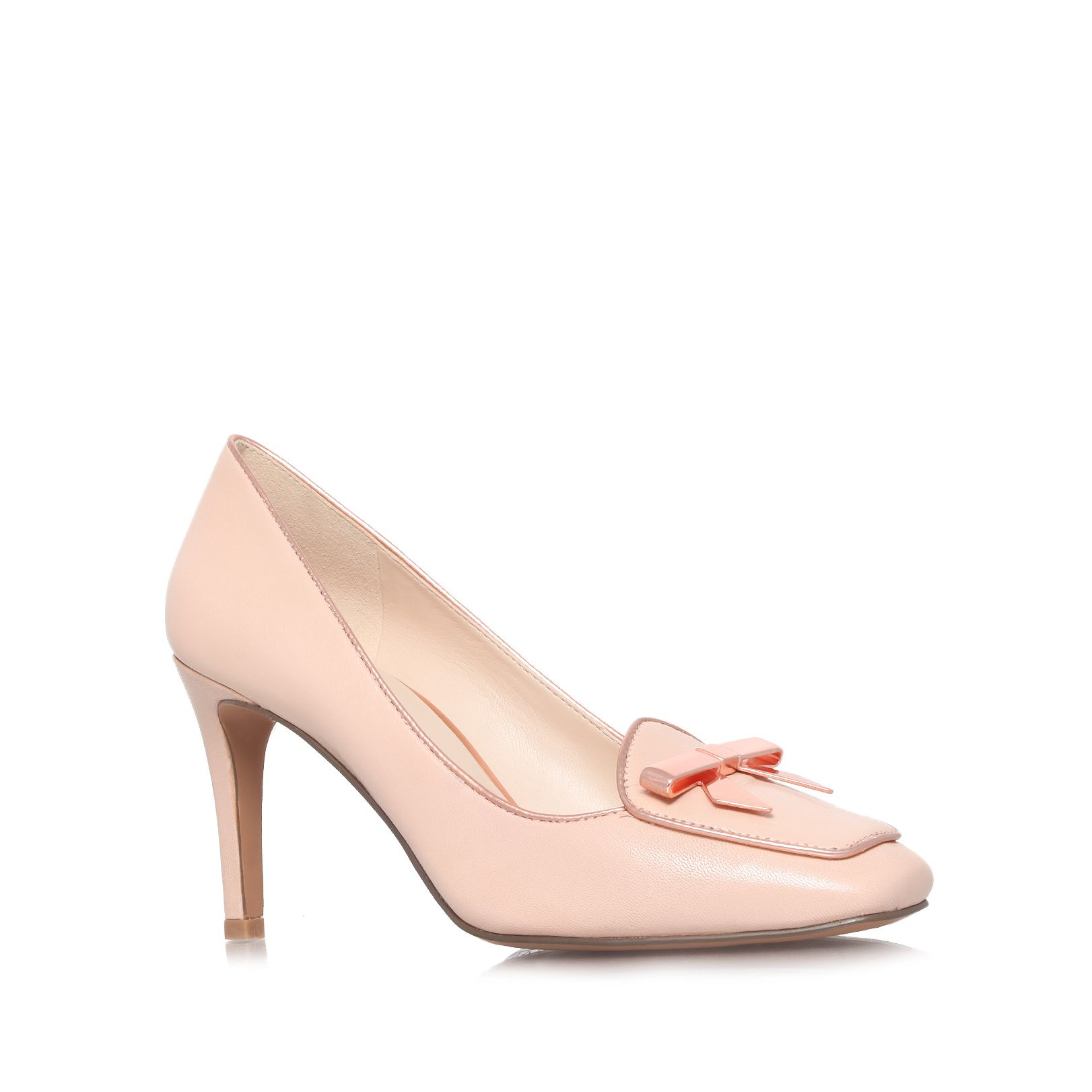 nine west darcy high heel court shoes in pink lyst