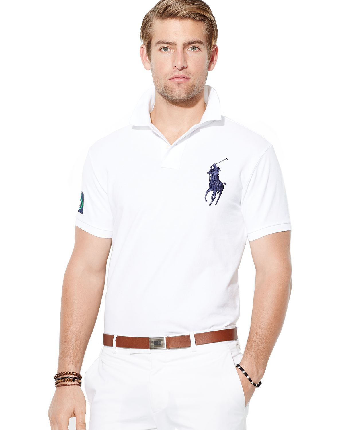 exceptional range of styles pretty cool latest design Polo Us Open Custom Big Pony Polo Shirt Slim Fit