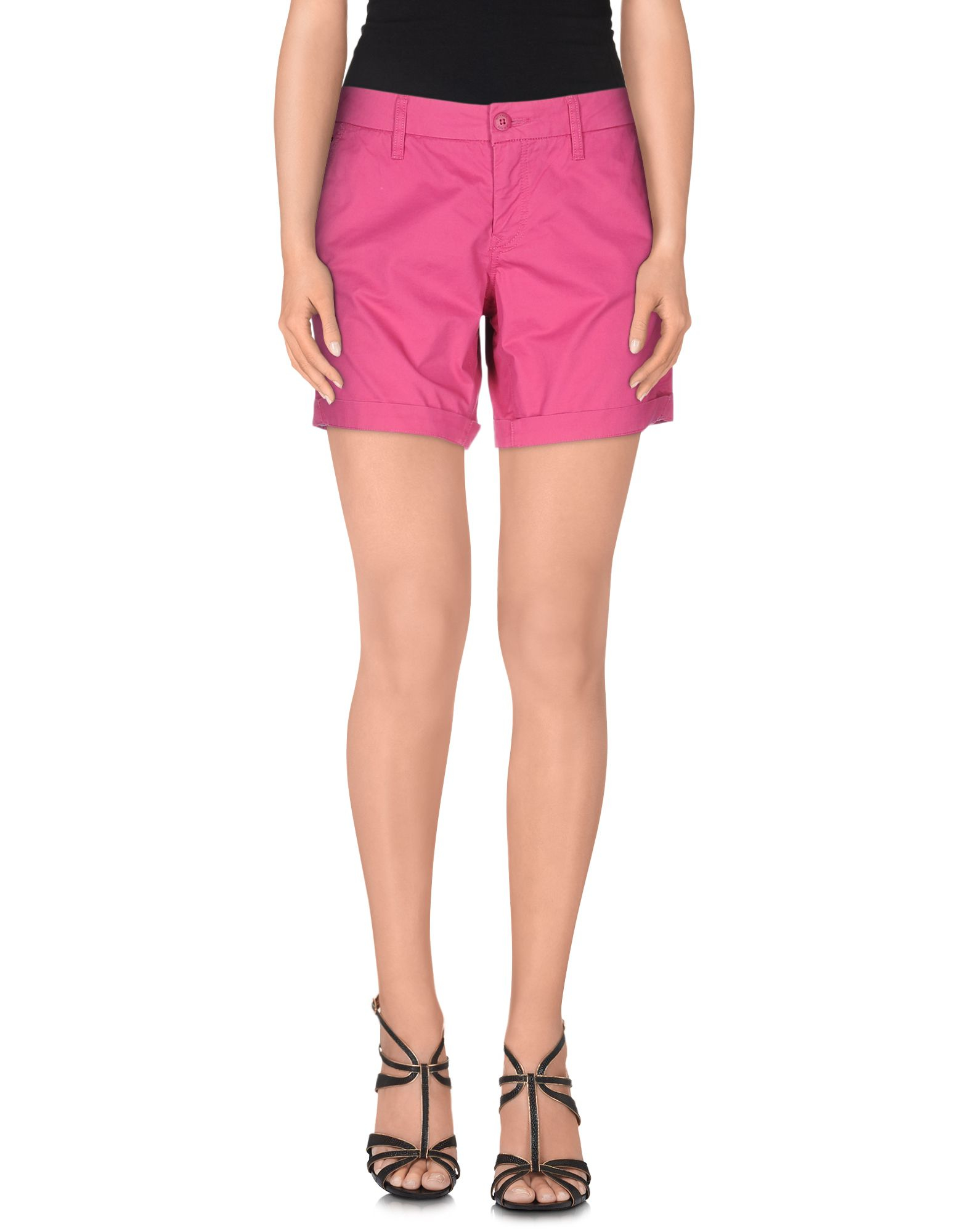 hilfiger denim shorts in purple lyst. Black Bedroom Furniture Sets. Home Design Ideas