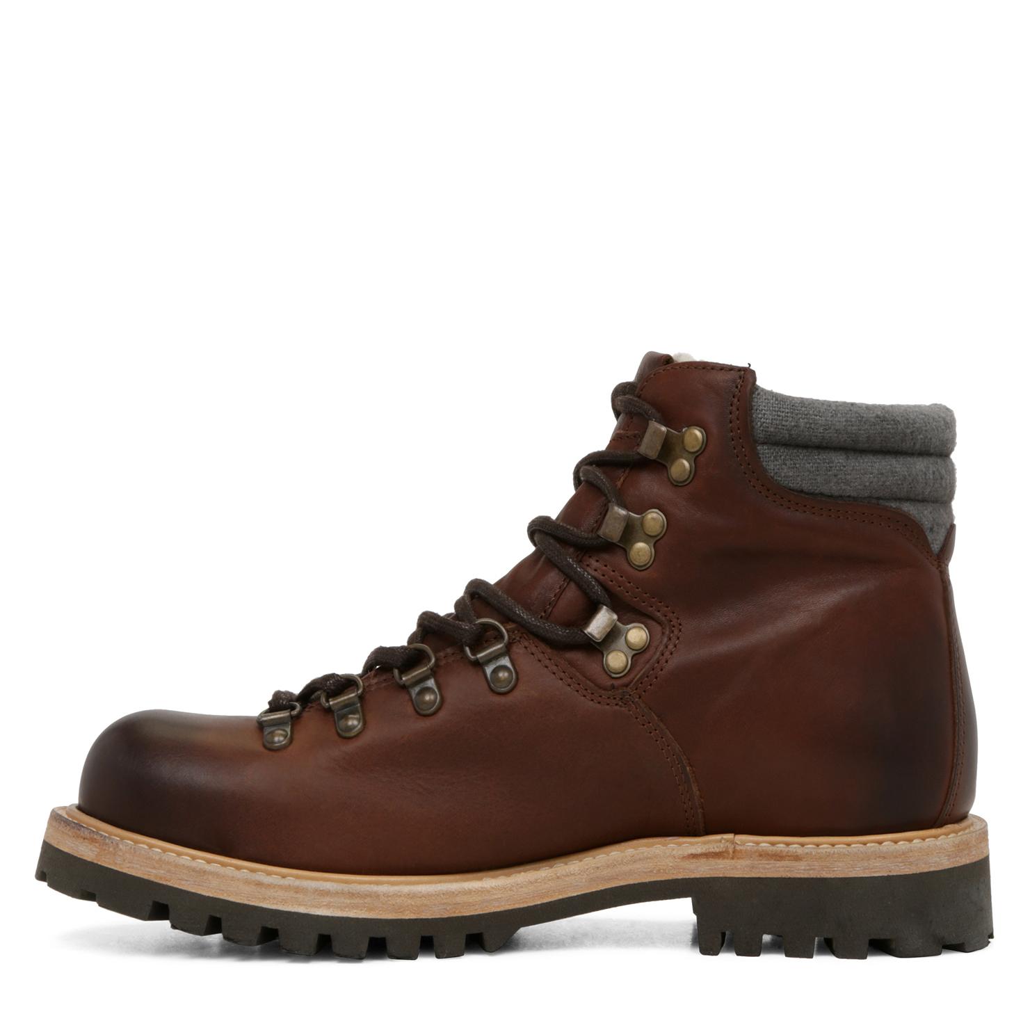 ALDO Leather Groreng in Dark Brown (Brown) for Men