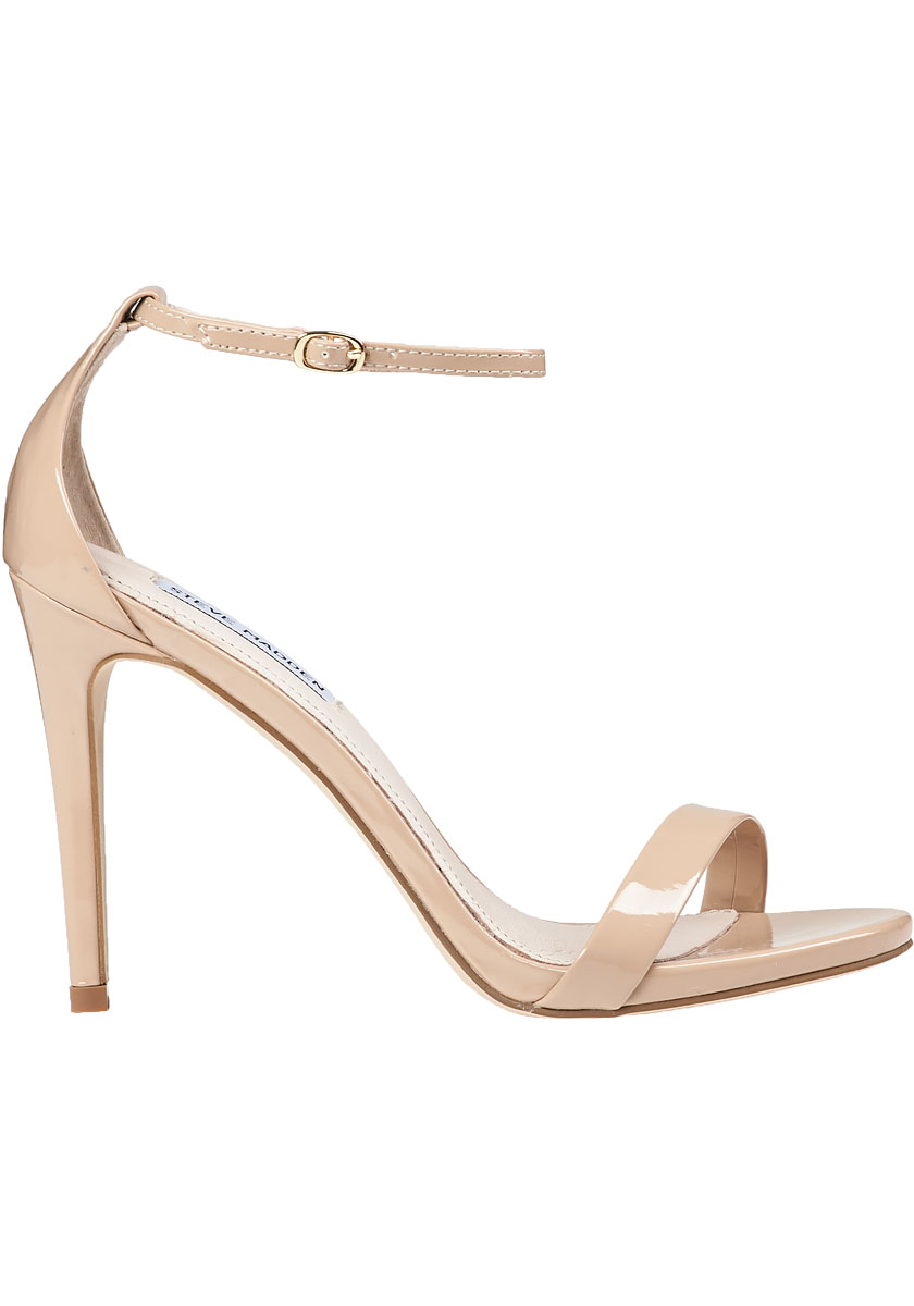 0f796c421d Steve Madden Stecy Ankle Strap Sandal Blush in Pink - Lyst