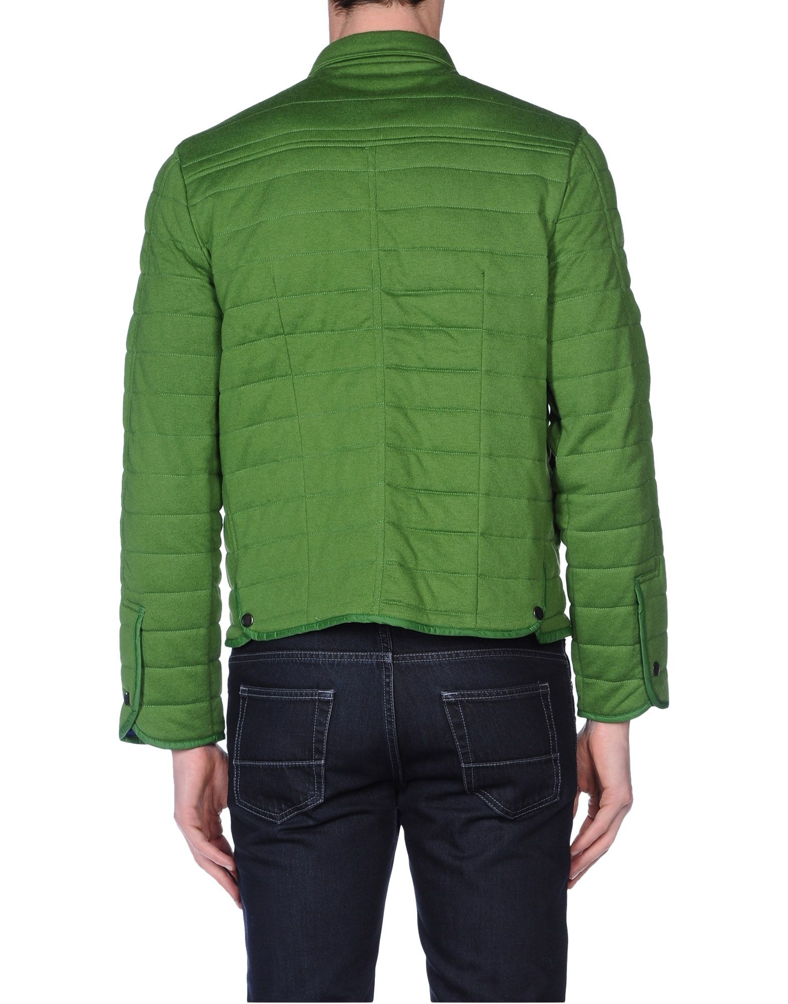 Kaos jacket in green for men emerald green lyst Emerald green mens dress shirt