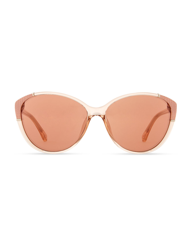 39c14b68a245 MICHAEL Michael Kors Paige Sunglasses in Black - Lyst