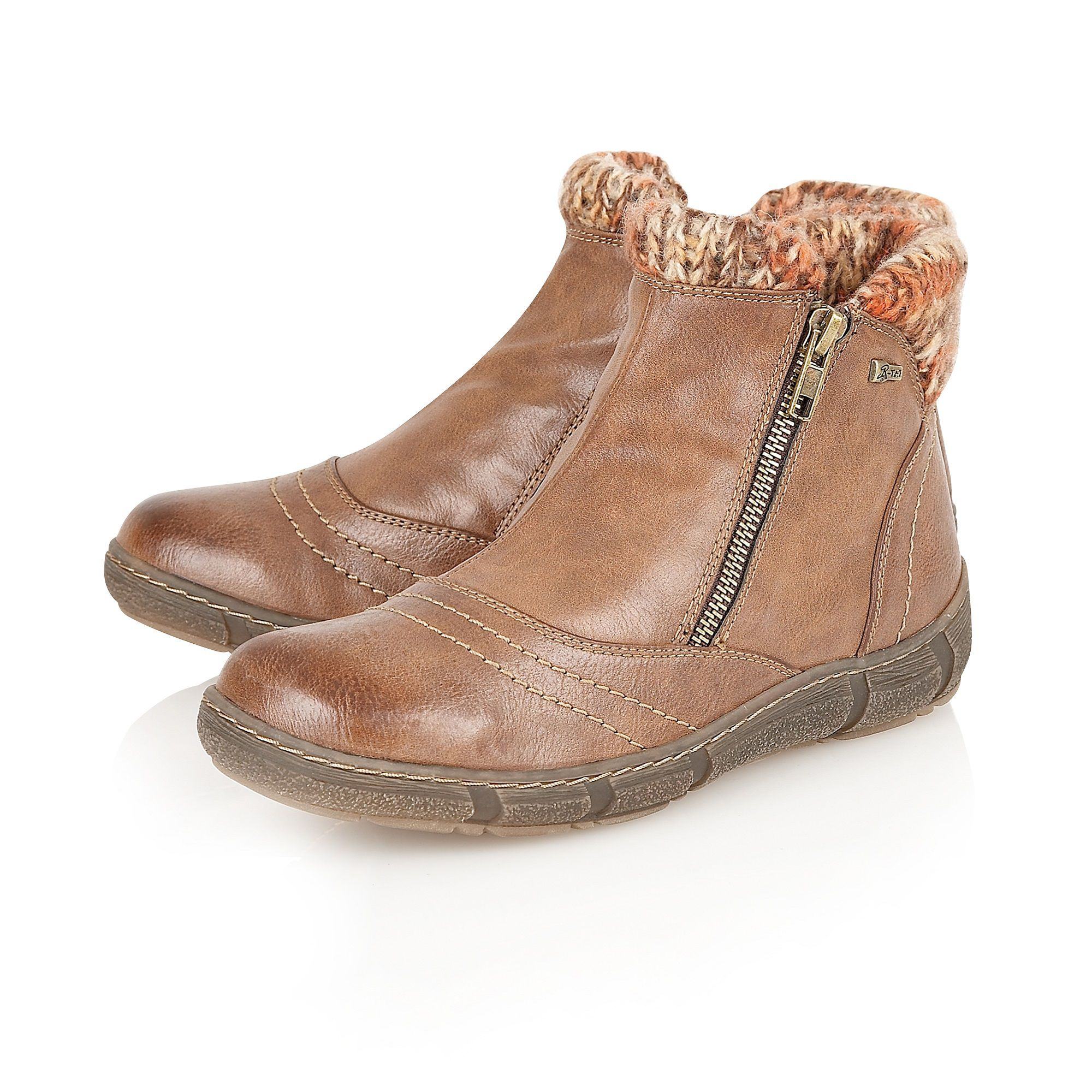 Lotus Relife Amineto Ladies` Ankle Boot in Tan (Brown)