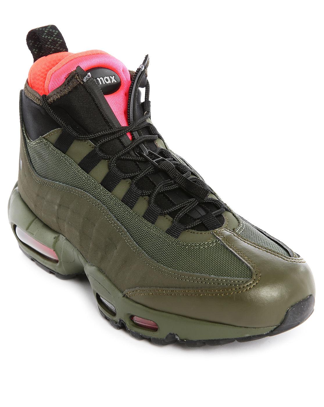 nike air max 95 sneakerboot groen