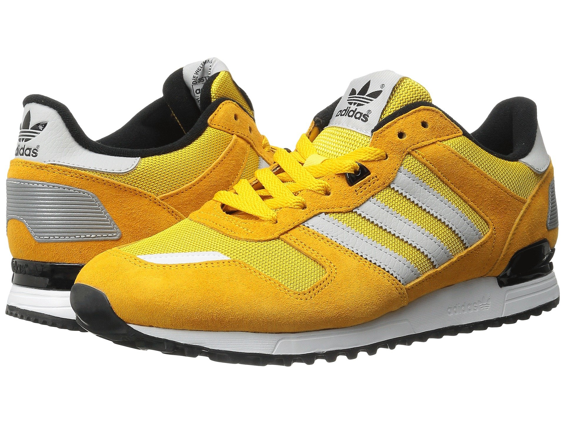 adidas originals zx 700 in yellow lyst. Black Bedroom Furniture Sets. Home Design Ideas