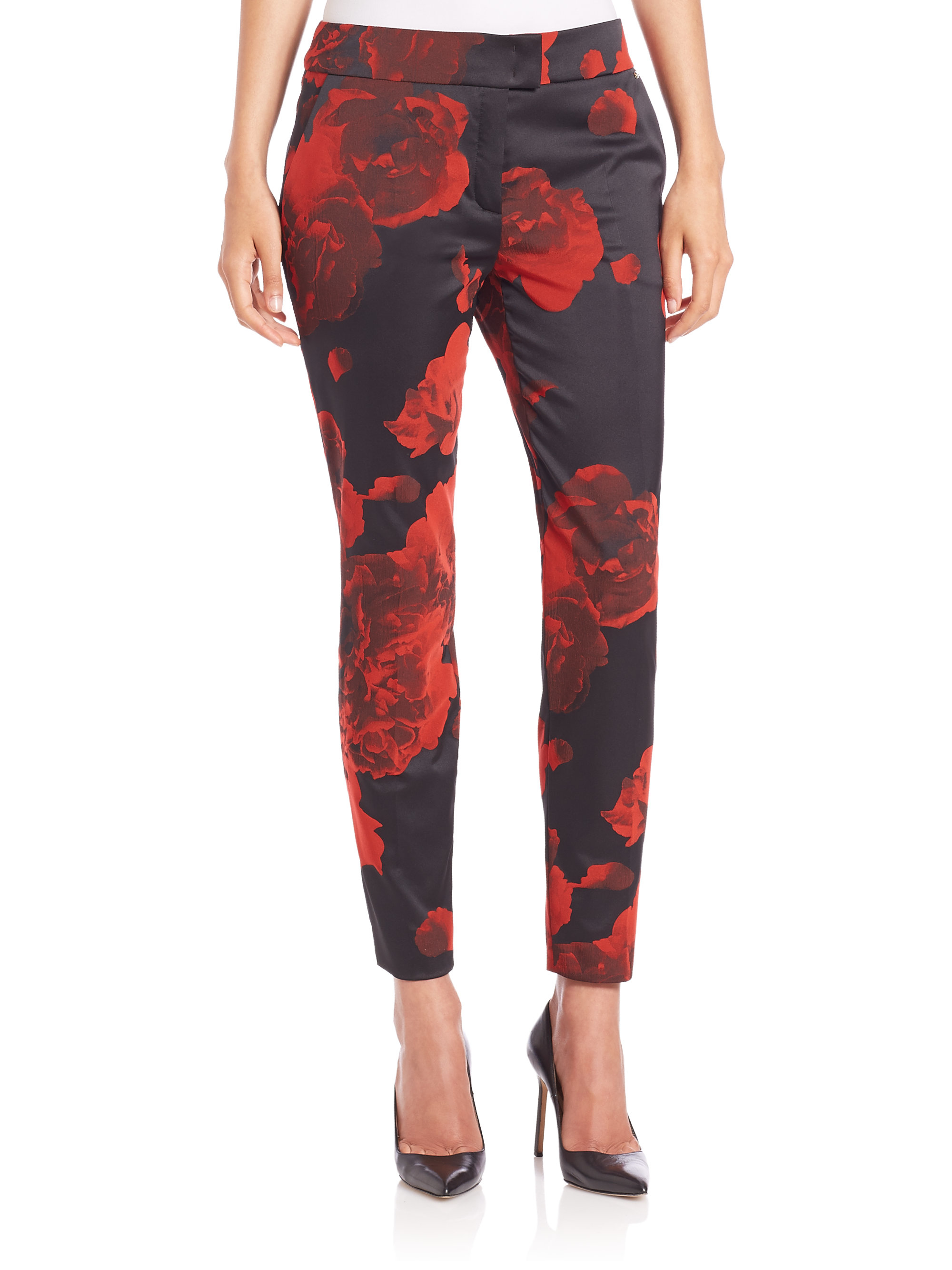 River Island Red Jeans
