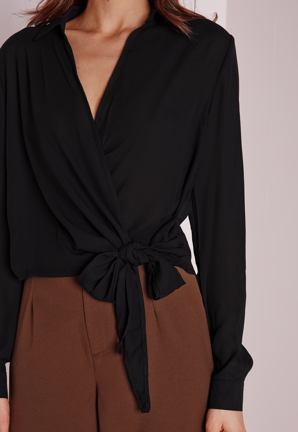 Wrap Over Blouse Missguided 70