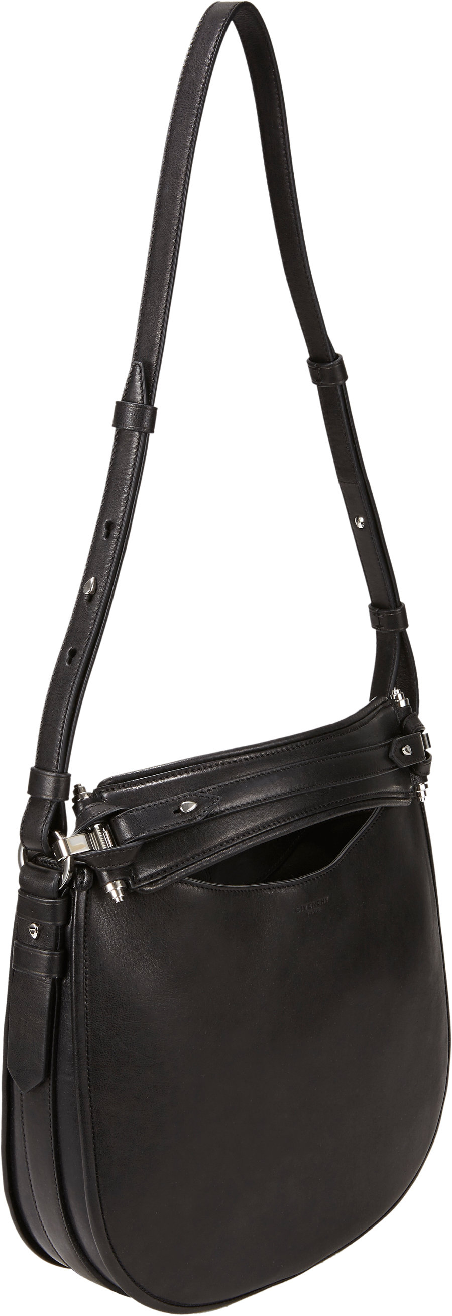 Lyst - Givenchy Small Zanzi Obsedia Hobo Bag in Black 9c41b6214a