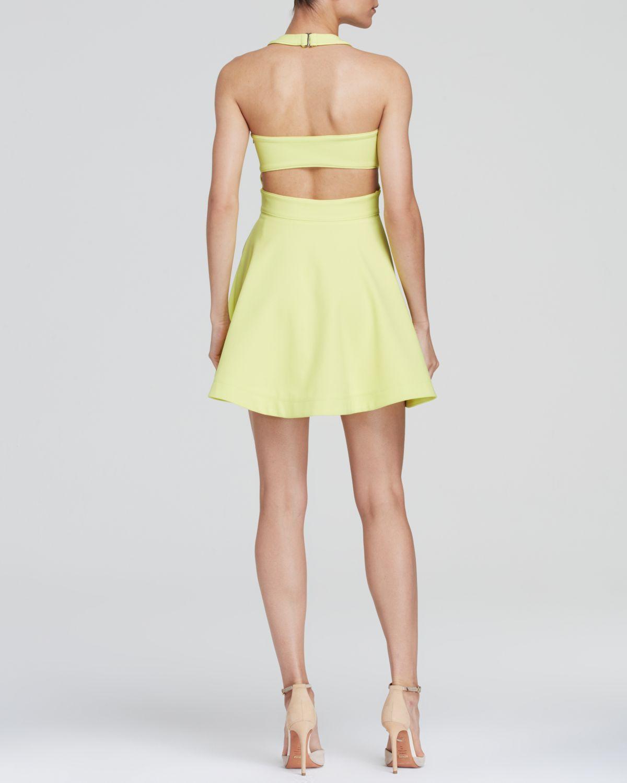 lyst elizabeth and james darrien dress in yellow. Black Bedroom Furniture Sets. Home Design Ideas