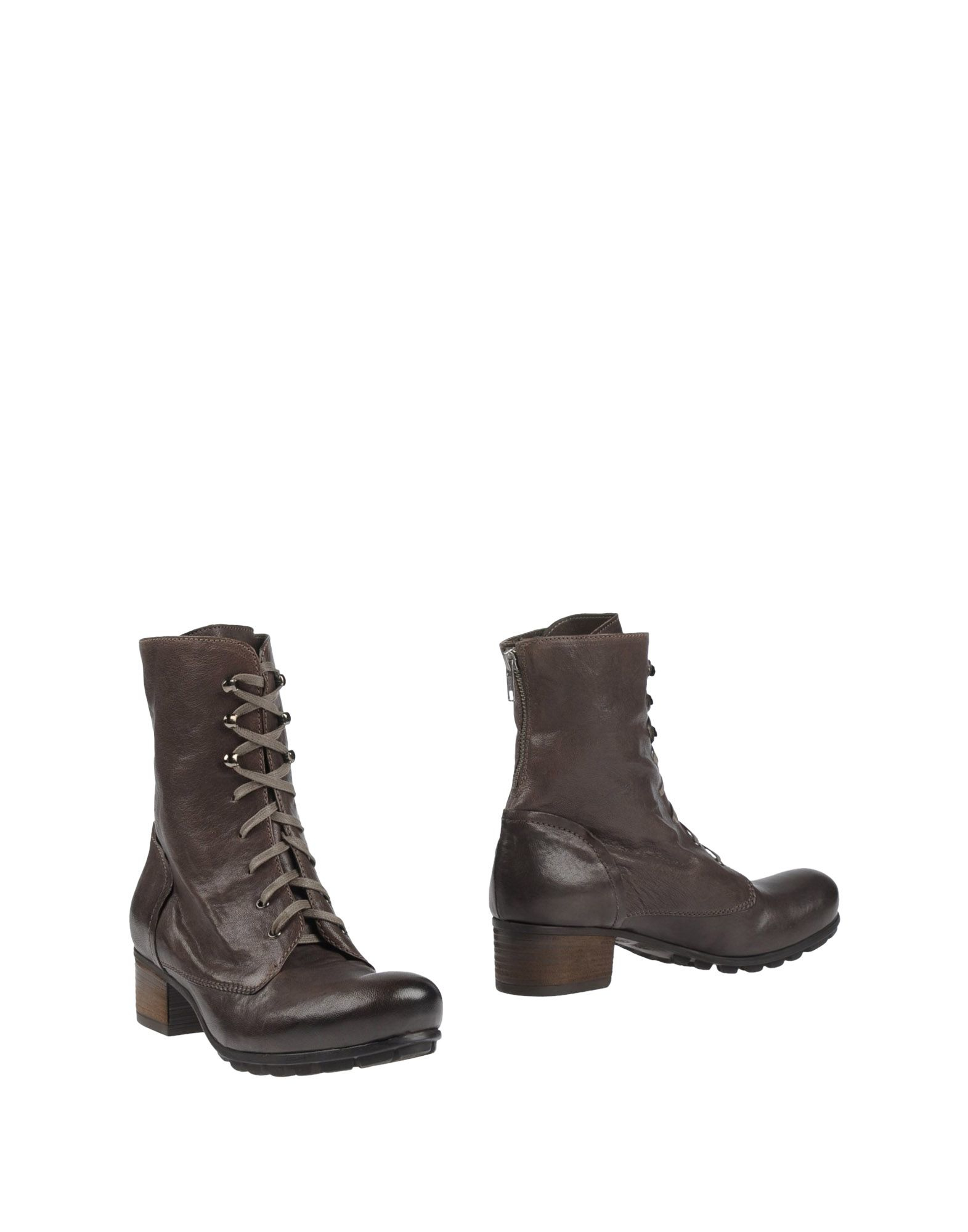 vic mati ankle boots in brown lyst. Black Bedroom Furniture Sets. Home Design Ideas