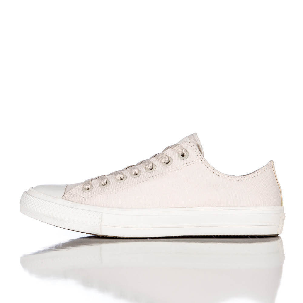 280295b5ab7 Lyst - Converse Chuck Taylor All Star Ii Ox Low In Parchment navy in ...