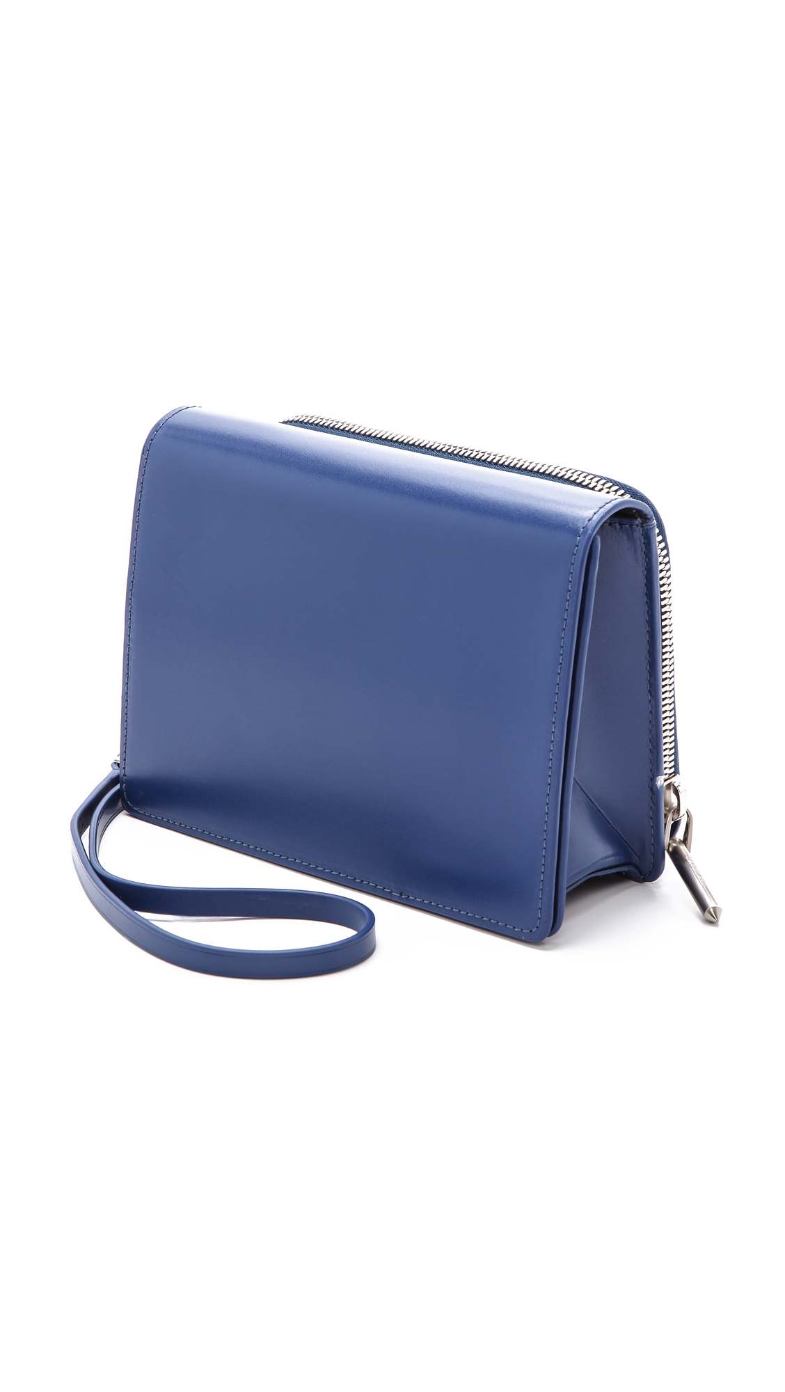 Helmut lang Vitreo Osfa Small Sling Bag Blue in Blue | Lyst
