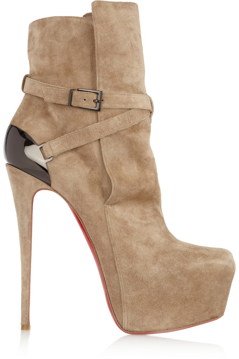 64a6862dee9 Christian Louboutin Natural Equestria 160 Platform Boots