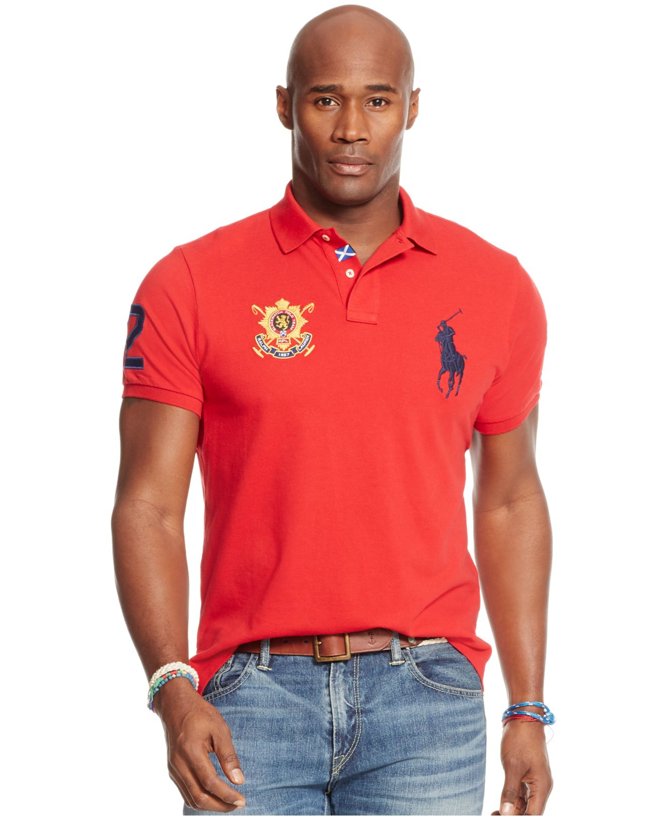 Mens Polo Shirts Big And Tall